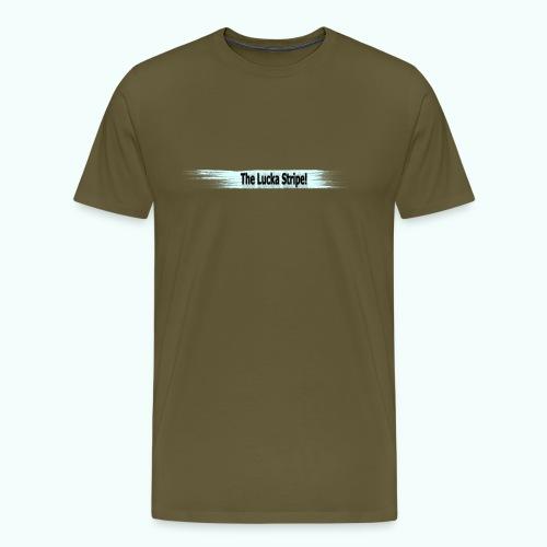 LuckaStripeHorizontal - Männer Premium T-Shirt
