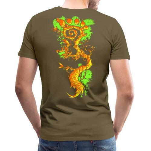 Parvati Records FootMoss - Men's Premium T-Shirt