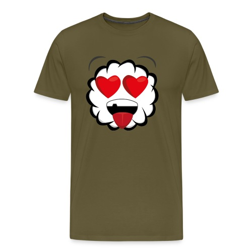 PKS Sheep Love - Männer Premium T-Shirt