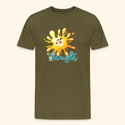 pensiero - Maglietta Premium da uomo
