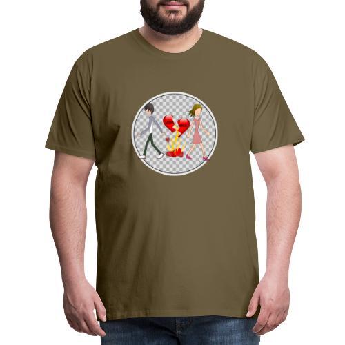Divorce Trennung - Männer Premium T-Shirt
