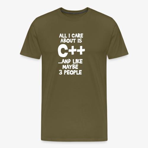 c developer - T-shirt Premium Homme