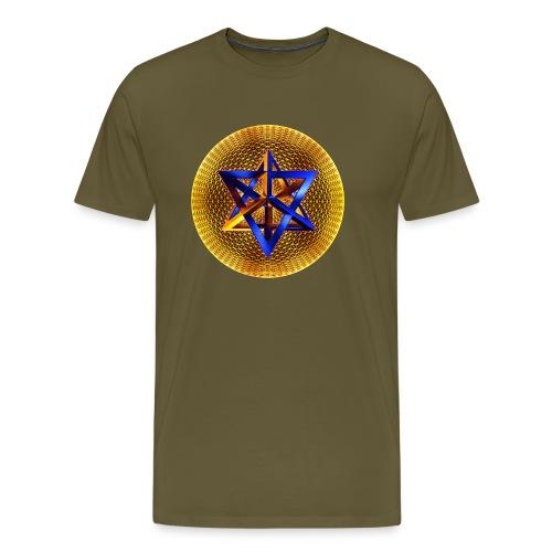 Merkaba - Männer Premium T-Shirt