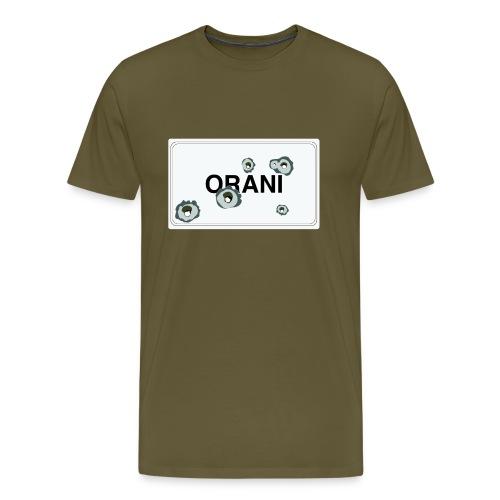 Cartello Orani bianco - Maglietta Premium da uomo