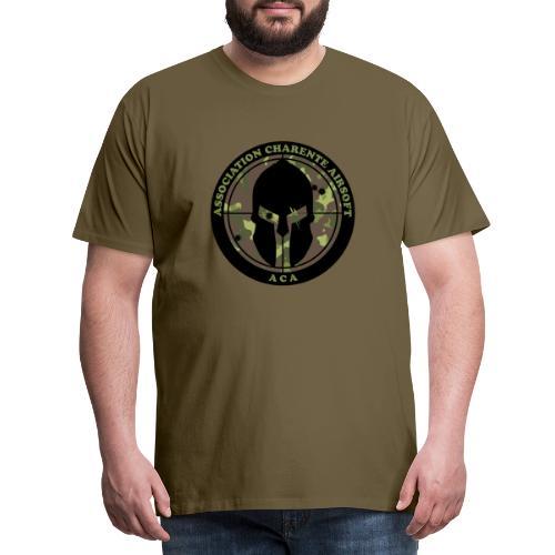 ACA LOGO CARNO HD - T-shirt Premium Homme