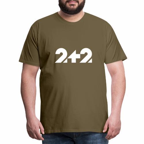 zwei plus zwei Stil - Männer Premium T-Shirt