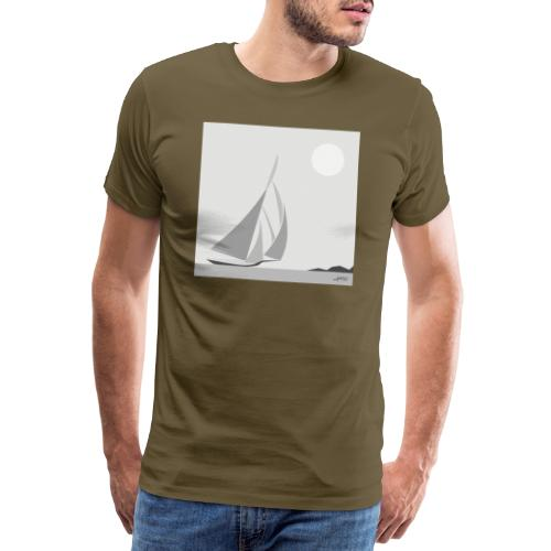 voilier - T-shirt Premium Homme