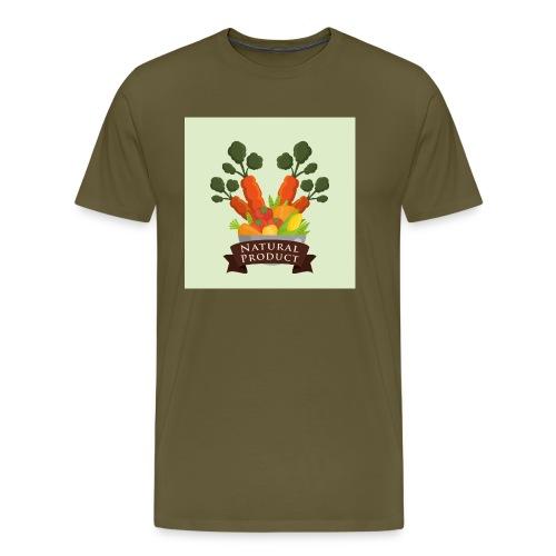 conception aliments biologiques3 - T-shirt Premium Homme