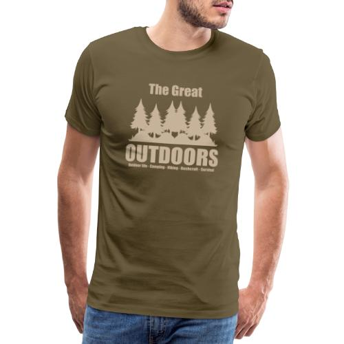 The great outdoors - Clothes for outdoor life - Men's Premium T-Shirt
