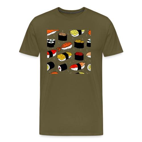 Sushi art - Mannen Premium T-shirt
