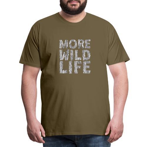 More Wildlife - Men's Premium T-Shirt