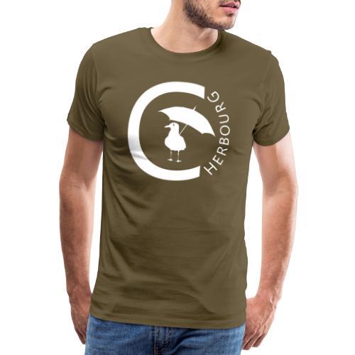 Cherbourg et mouette - T-shirt Premium Homme