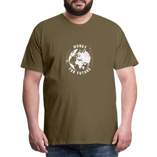 Money For Future White - Männer Premium T-Shirt