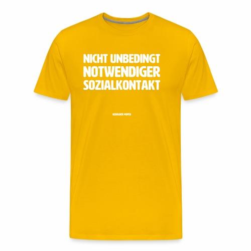 Sozialkontakt - Männer Premium T-Shirt