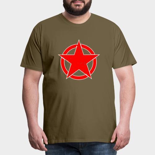 ESTRELLA EN CIRCULO - Camiseta premium hombre