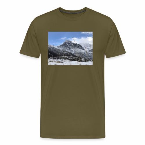 Vinter Brennviksanden - Premium T-skjorte for menn
