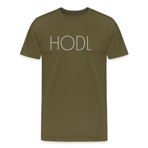 HODL. - Männer Premium T-Shirt