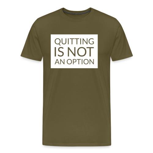 box_black_bkg_text_only - Men's Premium T-Shirt