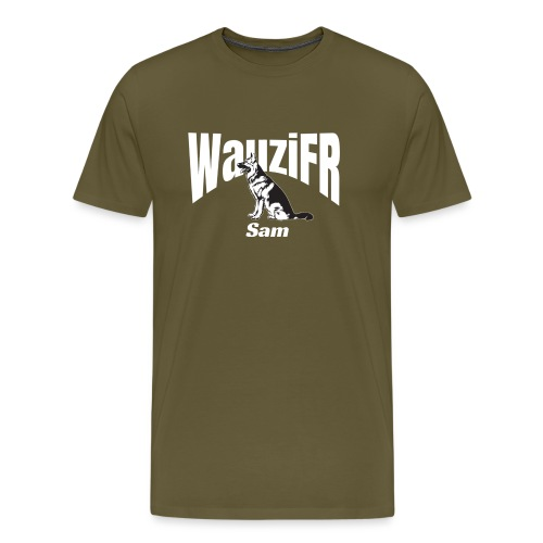 WauziFR Dog - Männer Premium T-Shirt