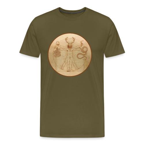 Cernunnos Vitruvio - Maglietta Premium da uomo