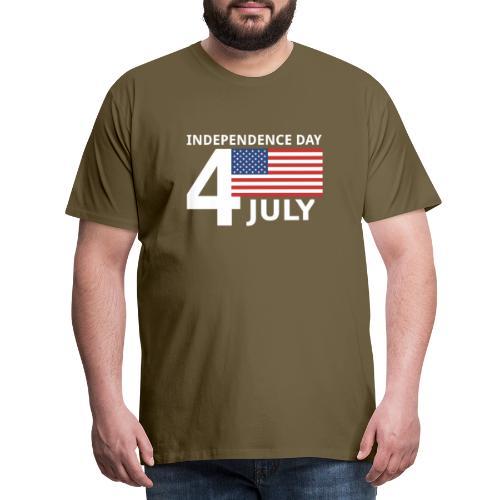 july 4th, 4 luglio - Maglietta Premium da uomo