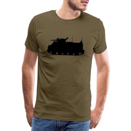 Swedish APC Pansarbandvagn 302 - PBV 302 - Premium-T-shirt herr