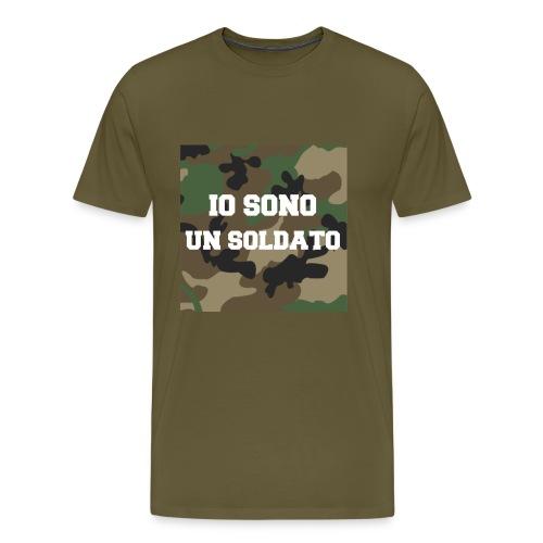 IO SONO UN SOLDATO - Maglietta Premium da uomo