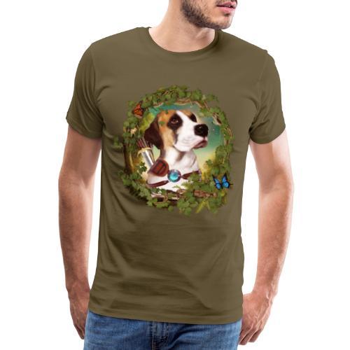 Fantasy Dog - Maglietta Premium da uomo