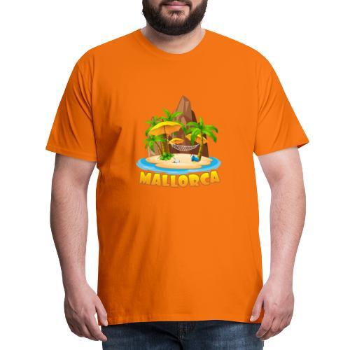 Mallorca - schau wie schön die Insel ist! - Männer Premium T-Shirt