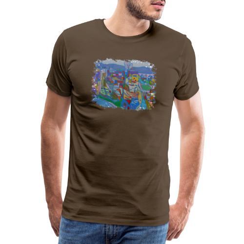 Luxemburg - Männer Premium T-Shirt