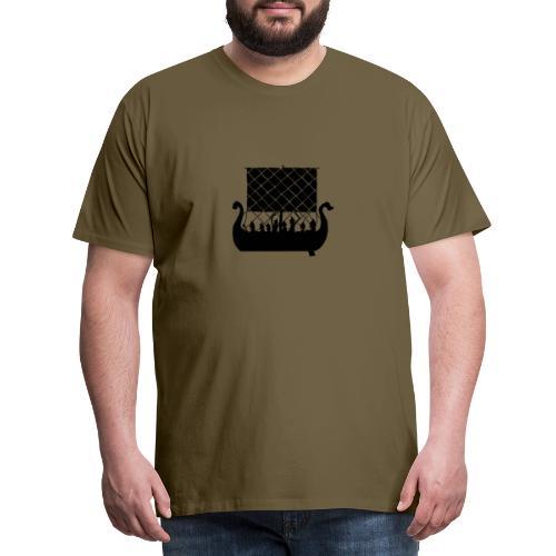 LongShip - Vikings - T-shirt Premium Homme