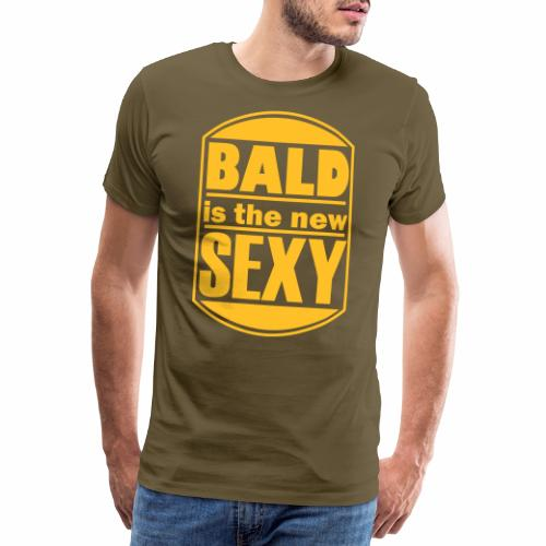 Bald is the new Sexy - Mannen Premium T-shirt