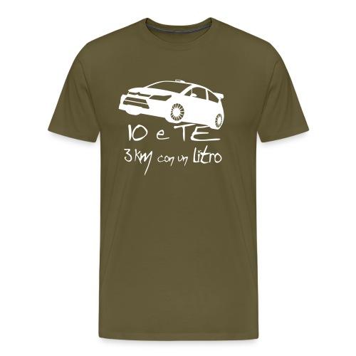 Io e Te 3km/l - Maglietta Premium da uomo