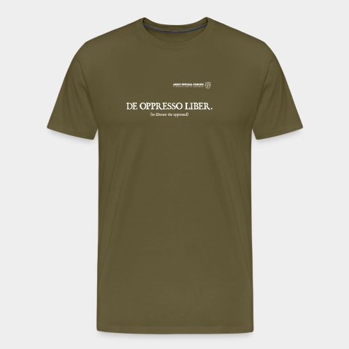 Creed: Special Forces - Men's Premium T-Shirt