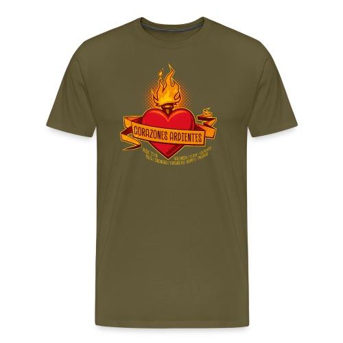 Burning Heart Tour - Männer Premium T-Shirt