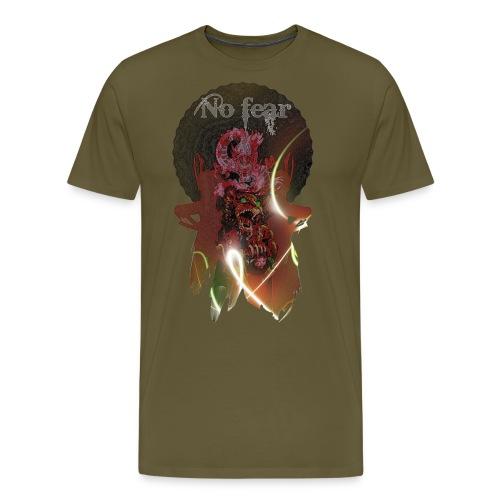 Perro foo y dragón - Camiseta premium hombre