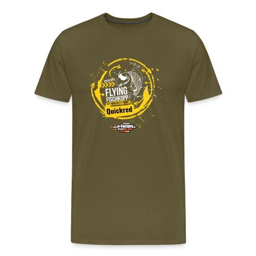 Shirt back quickred png - Männer Premium T-Shirt