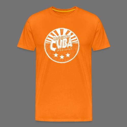 Cuba Libre (1c white) - Männer Premium T-Shirt