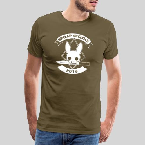 groot_rug_wit - Men's Premium T-Shirt