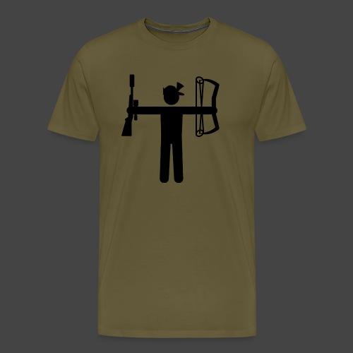 Universaljäger Schwarz - Männer Premium T-Shirt