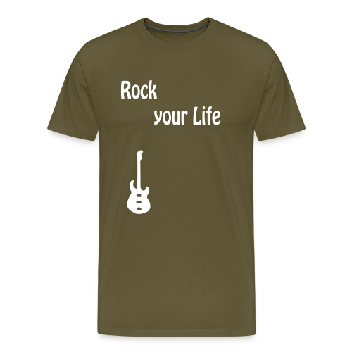 rock_your_life - Männer Premium T-Shirt