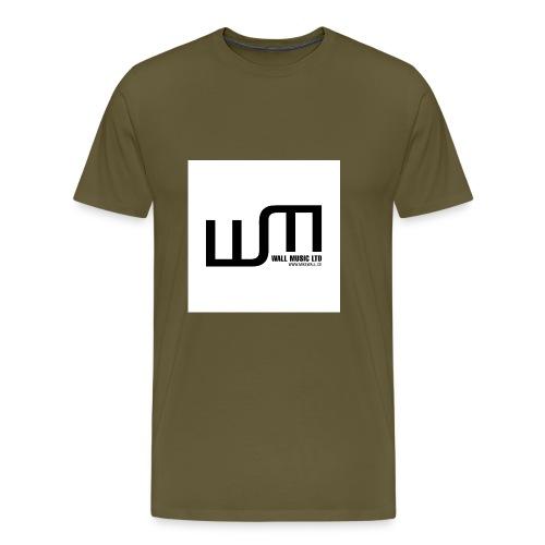 wall music t shirt aufdruck jpg - Männer Premium T-Shirt