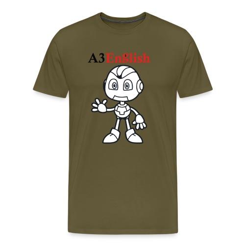 A3English Robot 51 - Men's Premium T-Shirt