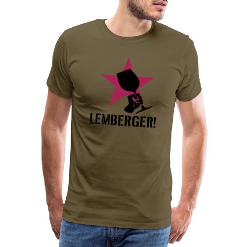 Lemberger Revolution - Männer Premium T-Shirt