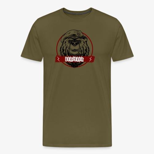 Berserkr Big Boss Bear - Men's Premium T-Shirt