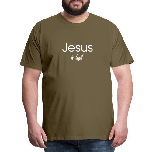 Jesus ist legal - Männer Premium T-Shirt