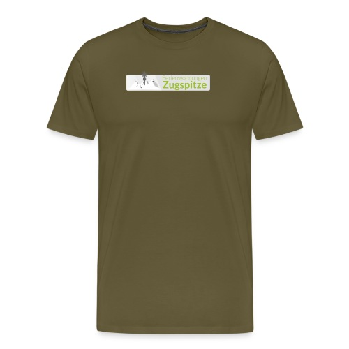 logo fewo zugspitze farbig transparent m - Männer Premium T-Shirt