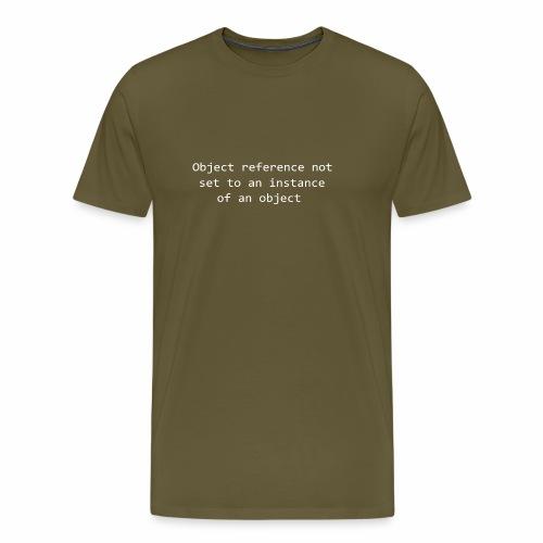 Object Reference - White - Men's Premium T-Shirt