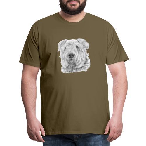 bouvierDesFlandres M - Herre premium T-shirt