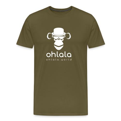 Ohlala Boss WHITE - T-shirt Premium Homme